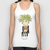 larry Tank Tops featuring Larry by UberMondoClash