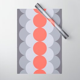 Gradual Living Coral Wrapping Paper