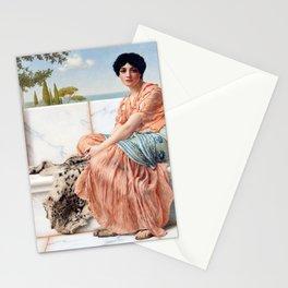 John William Godward Reverie Stationery Cards