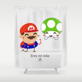 Tu eres mi vida Shower Curtain