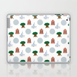 Iconic Theme Parks Laptop & iPad Skin