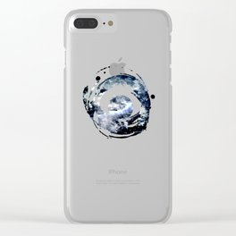 Frozen Galaxy Clear iPhone Case