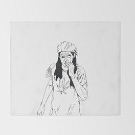 slater-san Throw Blanket