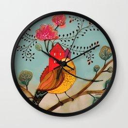 partout chez moi Wall Clock