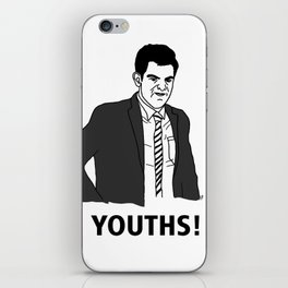 Youths! iPhone Skin