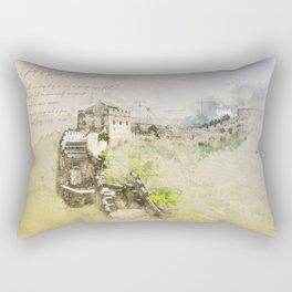 Great Chinese Wall Rectangular Pillow