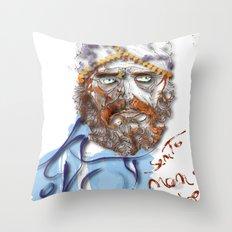 Mustafa' Throw Pillow