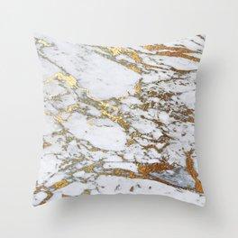 Gold Marble Deko-Kissen