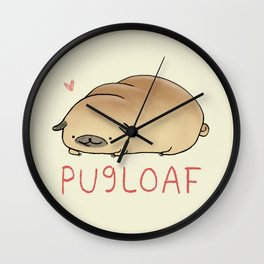 Pugloaf Wall Clock