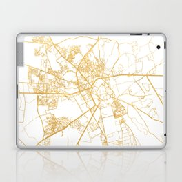 MARRAKESH MOROCCO CITY STREET MAP ART Laptop & iPad Skin