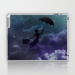 Mary Poppins in the sky with diamonds Laptop & iPad Skin