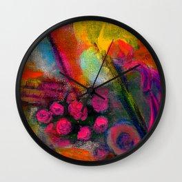 Abstract Still Life Wall Clock