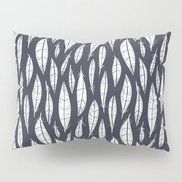 Quail Feathers (Midnight) Pillow Sham