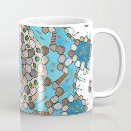 Koi Pond - Teal Version Coffee Mug