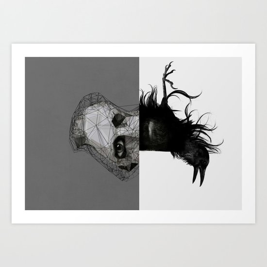 Everything in its right place Art Print