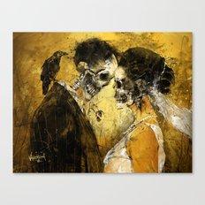 'Til Death do us part Canvas Print
