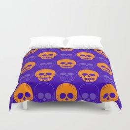 Skulls Pattern Duvet Cover