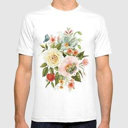 Wildflowers and Butterflies Bouquet  T-shirt