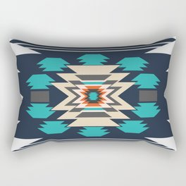 Double ethnic decor Rectangular Pillow