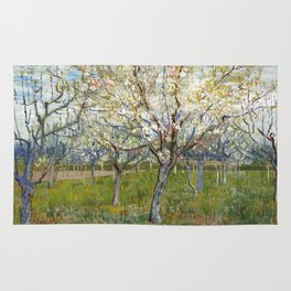 Vincent Van Gogh - The Pink Orchard Rug