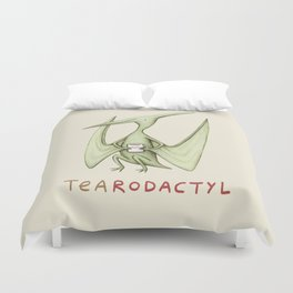 Tearodactyl Duvet Cover