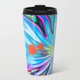 Abstract splash and water colour droplets Travel Mug