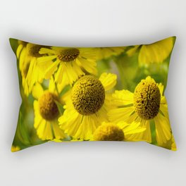 Nodding Bur Marigolds Rectangular Pillow