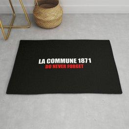 Commemoration La commune 1871 Rug