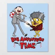 Time For a Big Adventure Canvas Print
