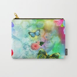Floral Fantasy 9 Carry-All Pouch