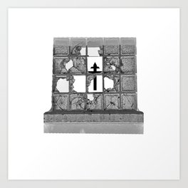 Only One Can Fill the Hole - the Light Art Print