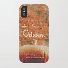 October Slim Case iPhone X