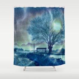 Amazing Winter Impression Shower Curtain