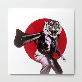 gun of the tiger2 Metal Print