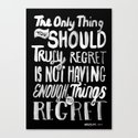 TRULY REGRET by wordboner