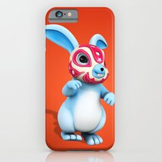 Lucha Rabbit-Blue Brother Slim Case iPhone 6s