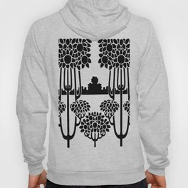 nouveau stencil repeating border Hoody