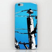 transformer iPhone & iPod Skins featuring Transformer Sky by Rebecca Joy - Joy Art and Design