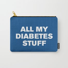 All My Diabetes Stuff (Lapis) Carry-All Pouch