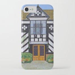 Gawsworth Hall, Cheshire iPhone Case