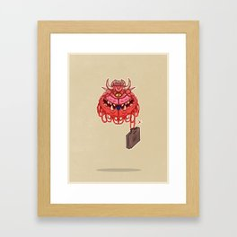 Working-Class Cacodemon Framed Art Print