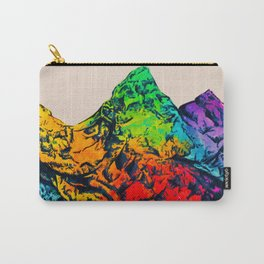 Rainbow Mountains Carry-All Pouch
