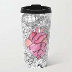 Heartbeat Metal Travel Mug