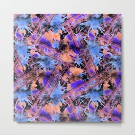Abstract pattern. Metal Print