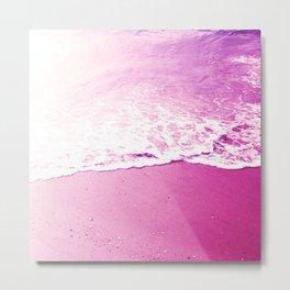 On the foam of the sea Metal Print