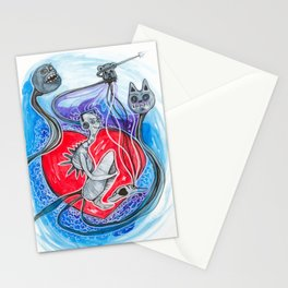 Childishly Little Monster Stationery Cards