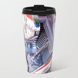 Chromed motorbike engine Travel Mug