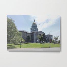 Capitol Building Denver Metal Print