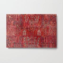 Sultanabad Arak West Persian Rug Print Metal Print