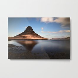 Fell Kirkjufell Mountain Metal Print